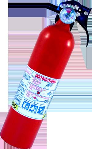 Проверка огнетушителя