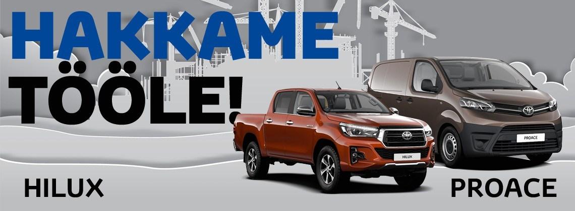 Toyota PROACE'i ja Hiluxi eripakkumised
