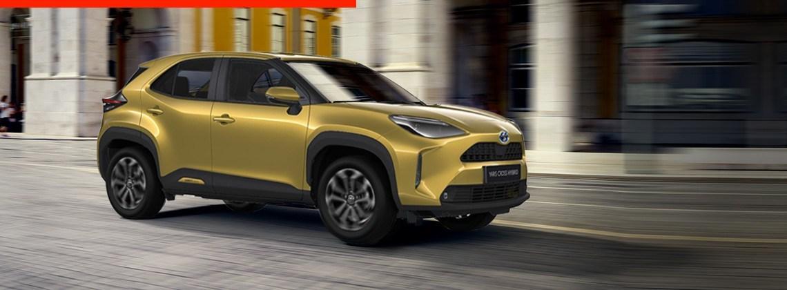 Toyota Yaris Cross – полностью оснащенный SUV, созданный для городских улиц