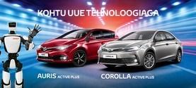 Toyota Auris ja Corolla