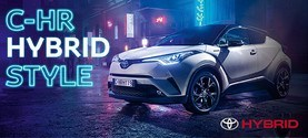 C-HR Hybrid bensiinimudeli hinnaga