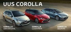 Uus Corolla kolme erineva keretüübiga