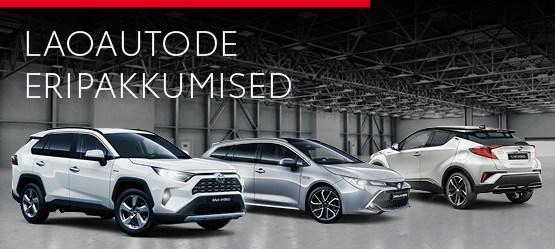Toyota laoautode head pakkumised
