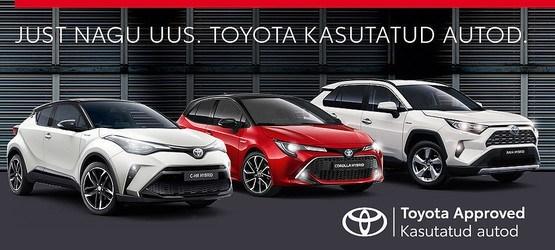 Toyota Approved kasutatud autod