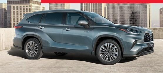 Uue Toyota Highlanderi tutvumispakkumine