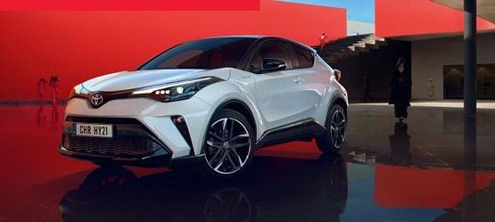 Nr 1 hübriid-linnamaastur Toyota C-HR*