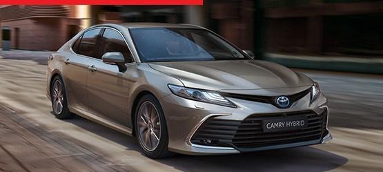 Uus Camry Hybrid: tutvumispakkumine